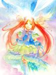 Angel in her glory