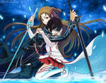 Sword art online - I will protect you