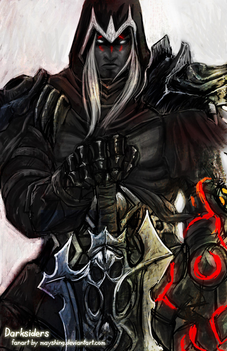 Darksiders - War by mayshing on DeviantArt