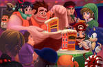 Wreck it ralph - party the way he wants it