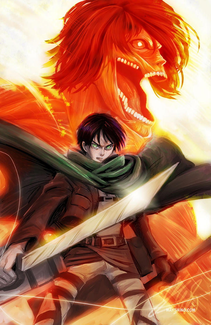 Attack on titan - Eren Jaeger by mayshing