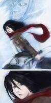 Mikasa ackerman by mayshing