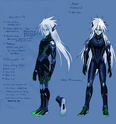 None-humanoid-blue by mayshing