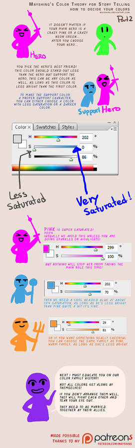 How to pick your colors for storytelling p2