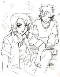 Gift- Authrun and Usagi