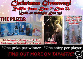 Christmas Giveway on Tapastic! by mayshing
