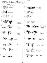 animeEyes 1-19 by mayshing
