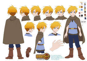 Golden Sun: Young Isaac by mayshing