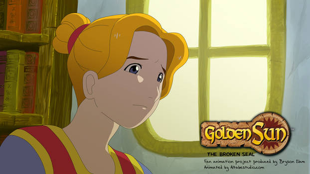 Golden Sun shot 5: Dora is worried