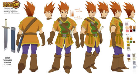 Golden Sun OP character sheet: Garet