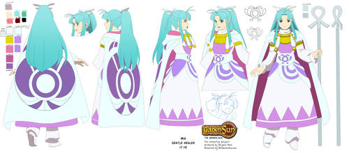 Golden Sun OP anime project: Mia character sheet