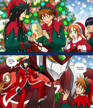 #Xmas2020 Mecha Santa