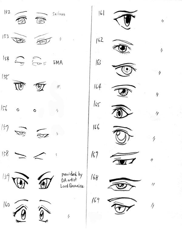 how to draw surprised eyes