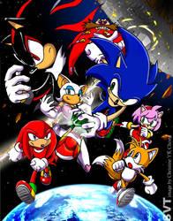 Sonic shadows commission