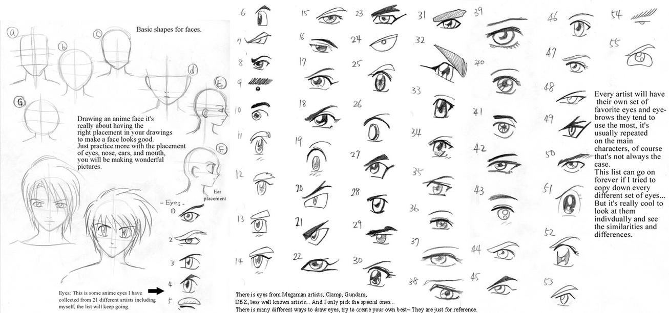 Anime Art Lesson Eyesall By Mayshing