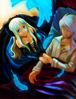 OdinSphere-Wounded Lover by mayshing