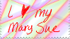 Mary Sue Love Stamp by musable