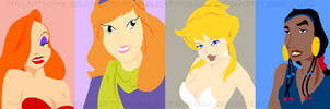 Cartoon Girls by musable