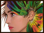 Like a bird by Colourfool
