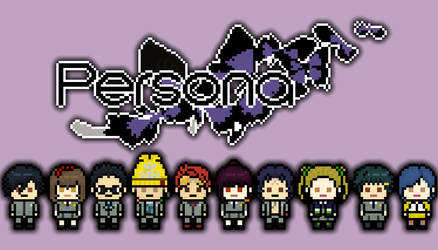 Megami Ibunroku Persona Cast by TatsuyoDragneel