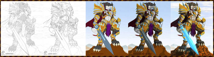 Progress - Knight Ran by Vannister-Nicodemus