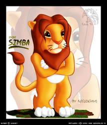 Chibi Simba by Vannister-Nicodemus