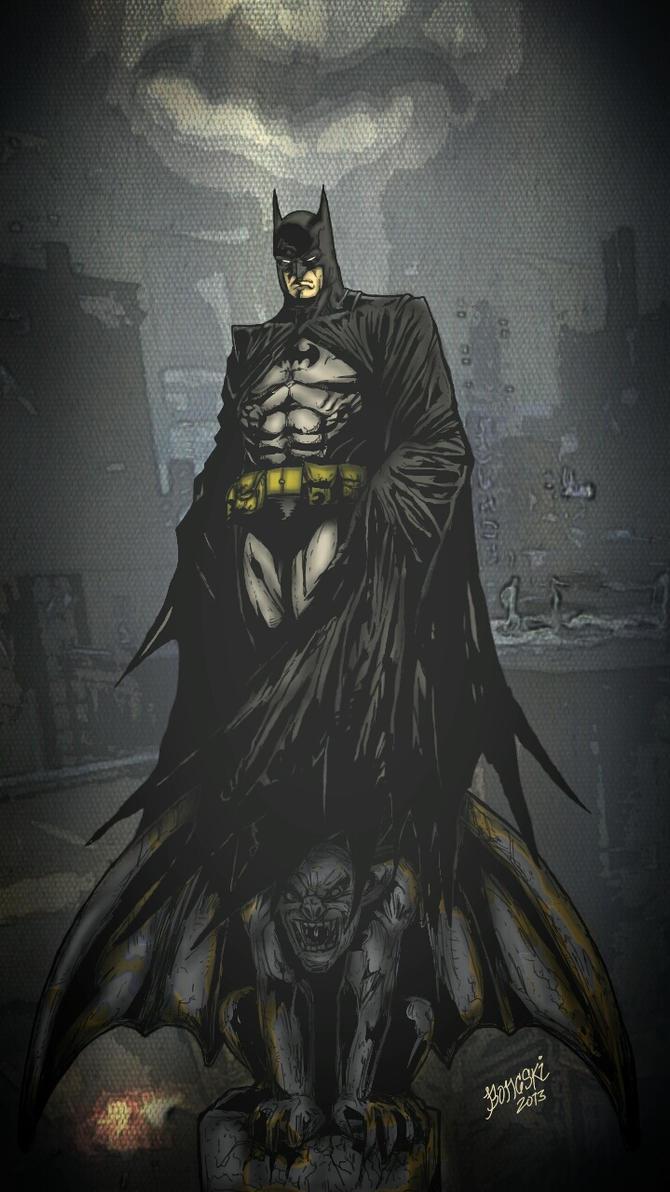 The Dark Knight by Birdfish420