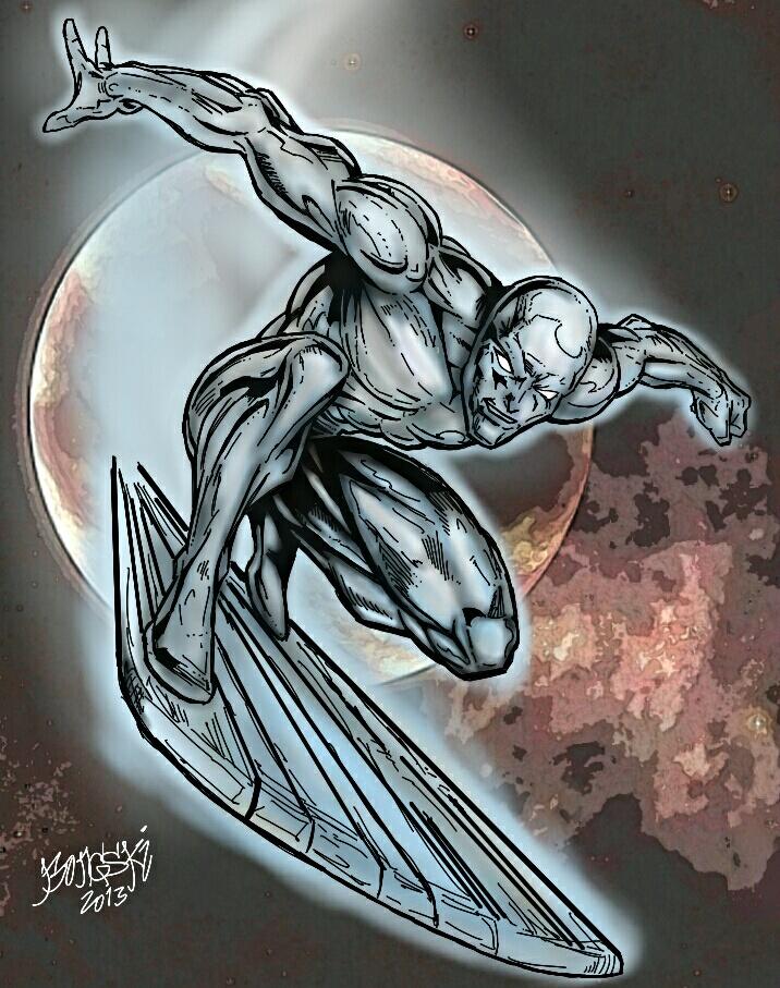 silver surfer by Birdfish420