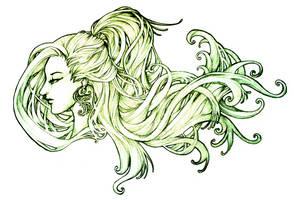 Swirling Locks by Ahmigad