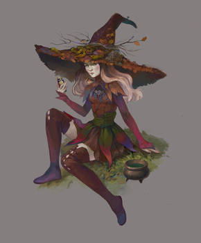 October Witch adopt AUCTION[CLOSED]