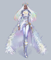 White knight ADOPT 1 day AUCTION [CLOSED] by opi-um