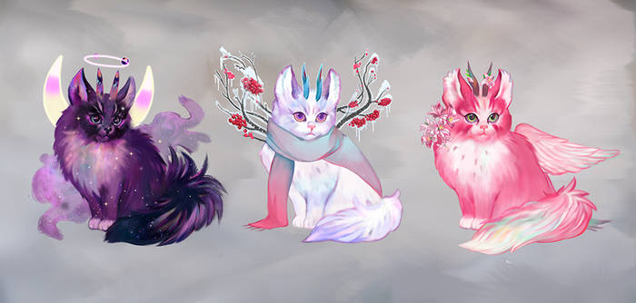 Wizard cats adopt AUCTION Vol.2 [OPEN 2/3]