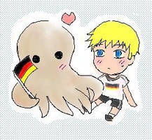 Germany + Paul by Huai-Ai