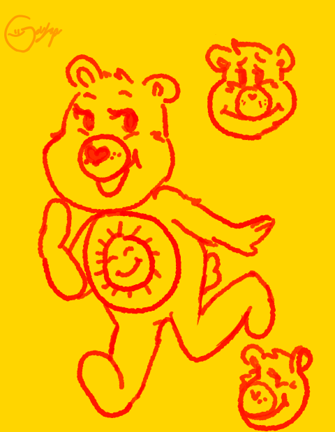 Sunshine Bear by gayspacer