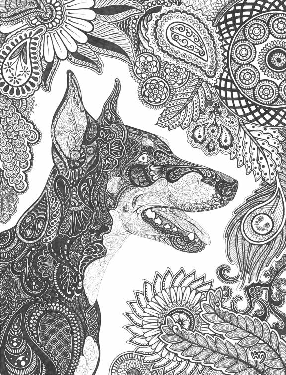 Paisley Doberman Pinscher By Celerie On DeviantArt
