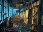 abandoned art school
