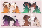 Horse Adoptables (0/4) - CLOSED Auction