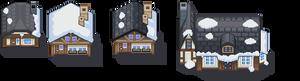 Random Snow Tiles