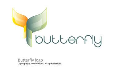Butterfly logo by Xa0tiK