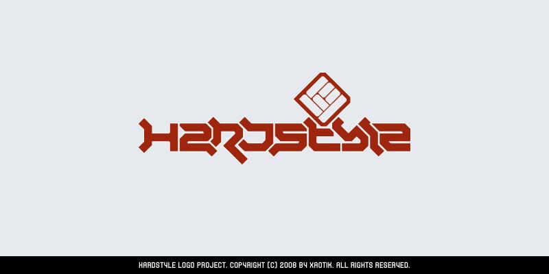 Hardstyle logo by Xa0tiK
