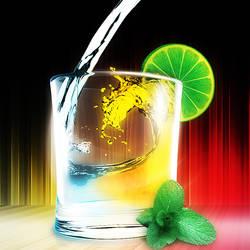 glass ad