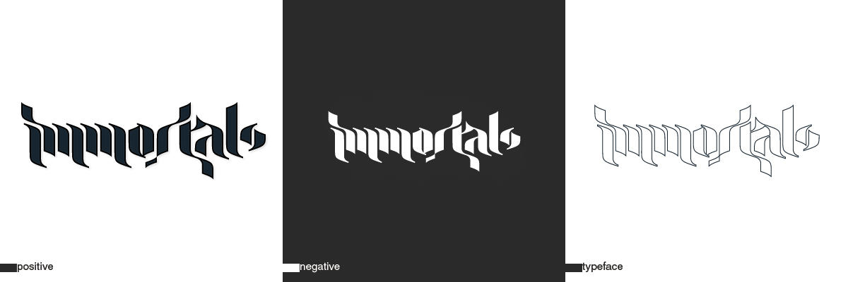 immortals logo two by Xa0tiK