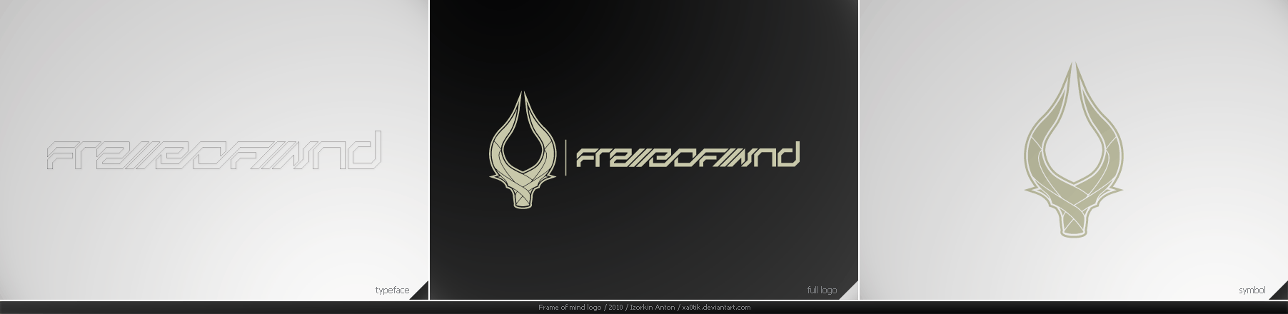 Frame of mind logo 1 by Xa0tiK