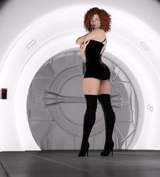 Ruetha in the Starfall Chamber by illysArt