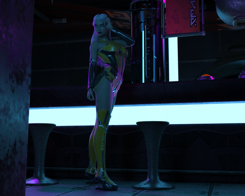 Zair at the Night Club