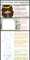 How 2 draw chibis tutorial