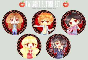 Twilight Button Set I by DyMaraway
