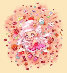BD: Candy Princess by DyMaraway