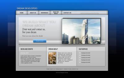 Dream developers - web design by MichalSadilek