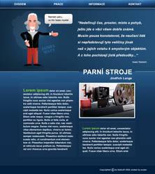 Steam engines - web design